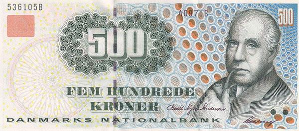 Bohr 500 corone danesi