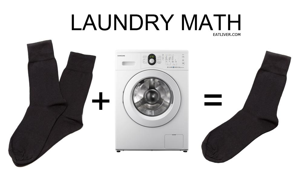 matematica e bucato