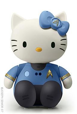 hello kitty spock star trek