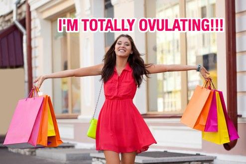 ovulating