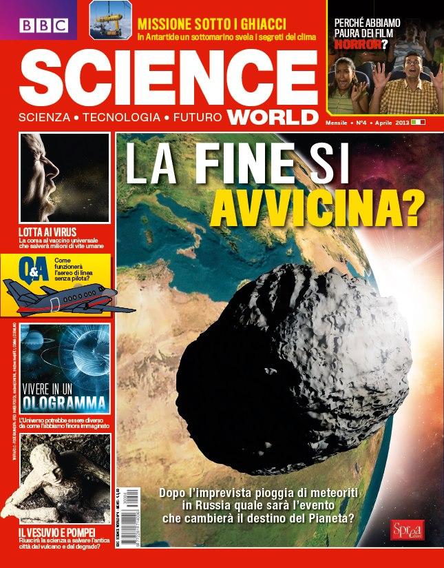 bbc scienza aprile 2013