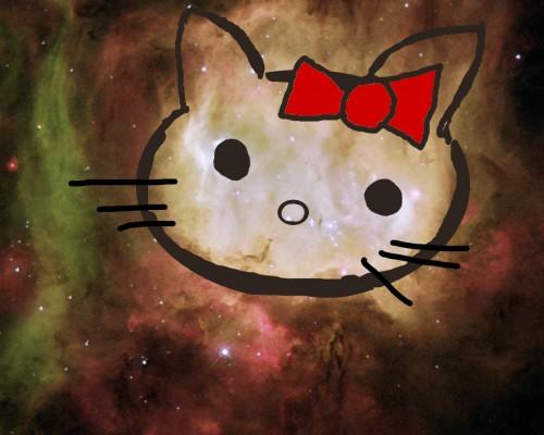 hello kitty nebula