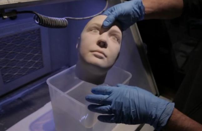 maschera in 3D