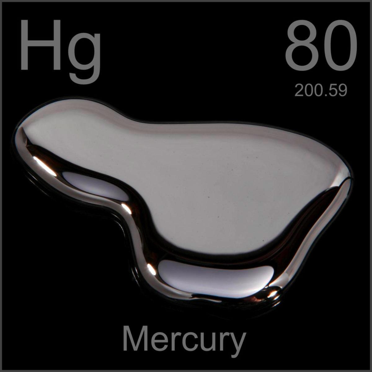 goccia mercurio